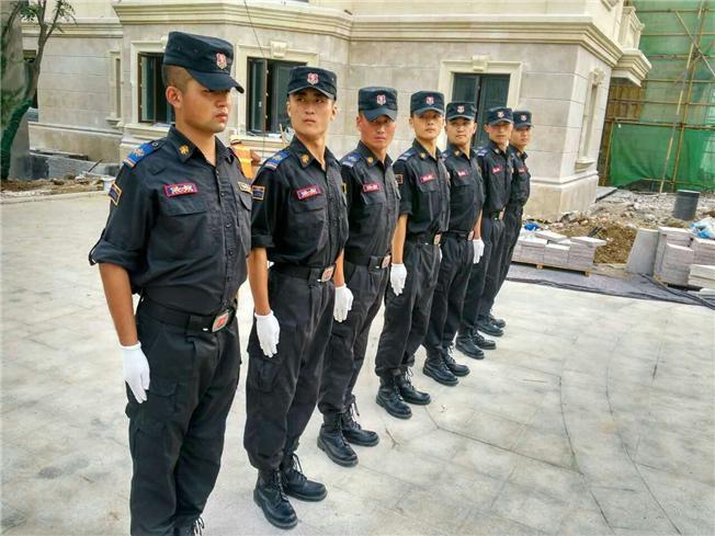 皇甲特卫青岛公司成功进驻莱阳路8号保安管理服务项目